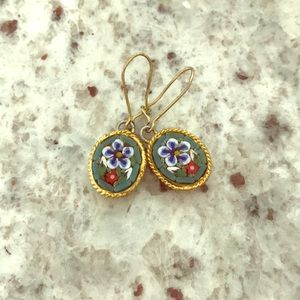 Jewelry - Mosaic Tile Russian dangle earrings